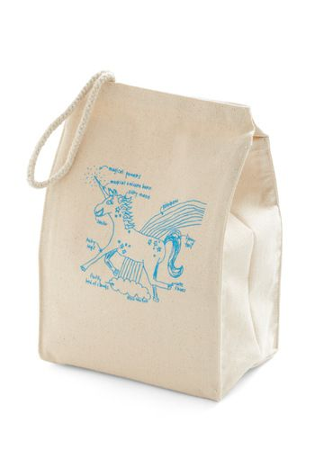 Lead the Pack Lunch Bag in Unicorn