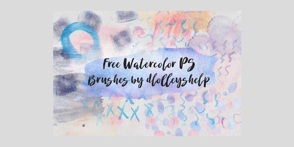 Free Watercolor Photoshop Brushes Photoshop Brushes Photoshop