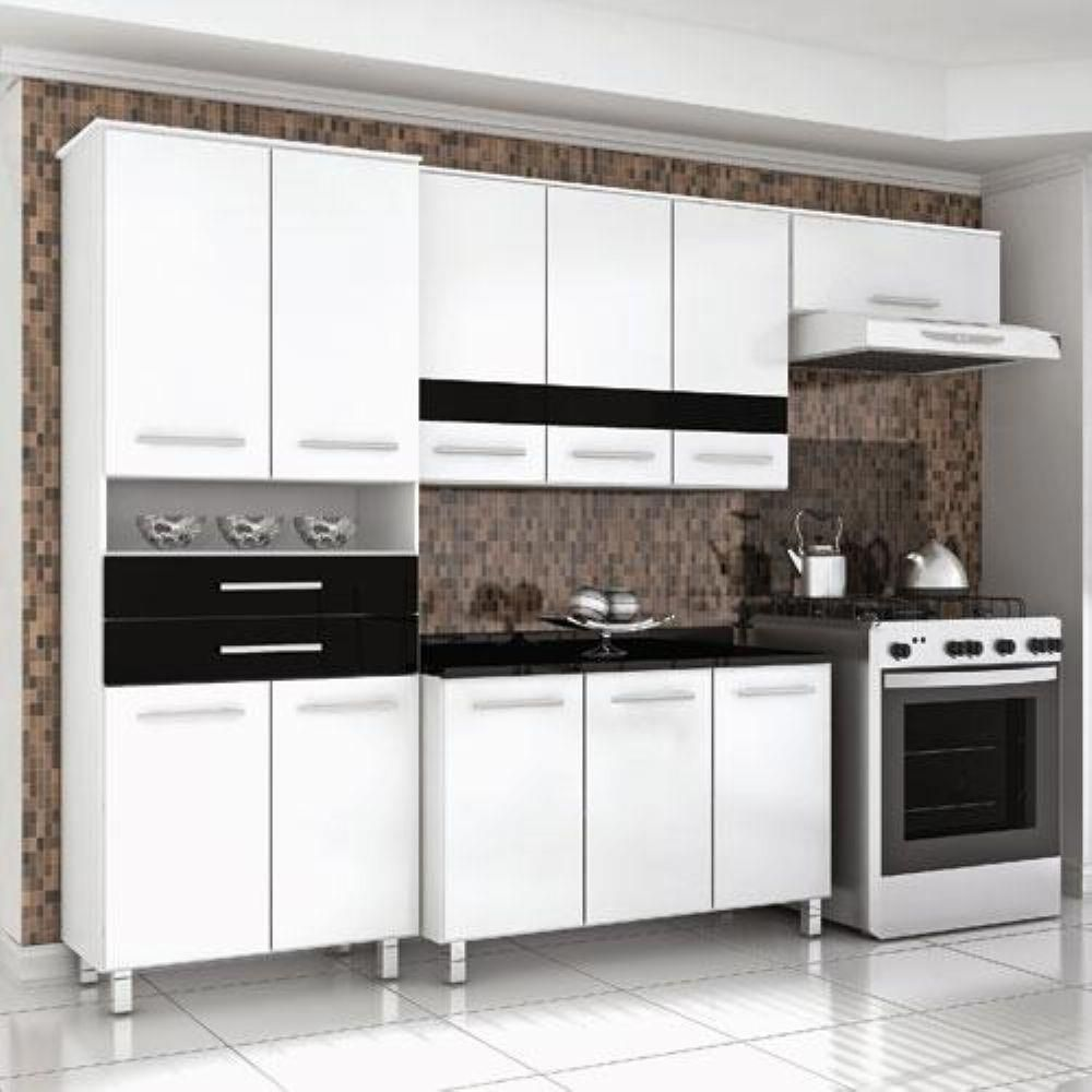 Cozinha Bartira Safira 11 Portas E 2 Gavetas