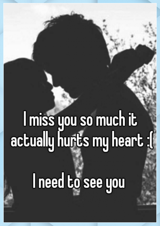 I Miss You So Much It Actually Hurts My Heart I Need To See You Actually Crush Quotes Gratitud Seeing You Quotes I Miss You Messages I Needed You Quotes