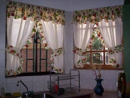 Resultado de imagen para cortinas navideñas Cortinas Pinterest