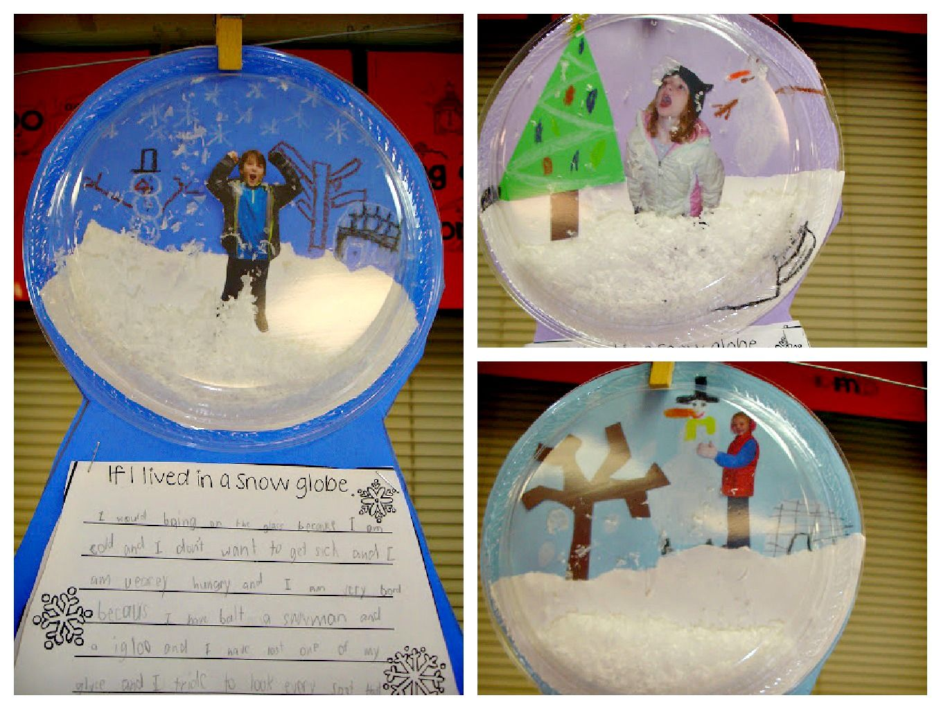 Snow Globe Craft For Kids