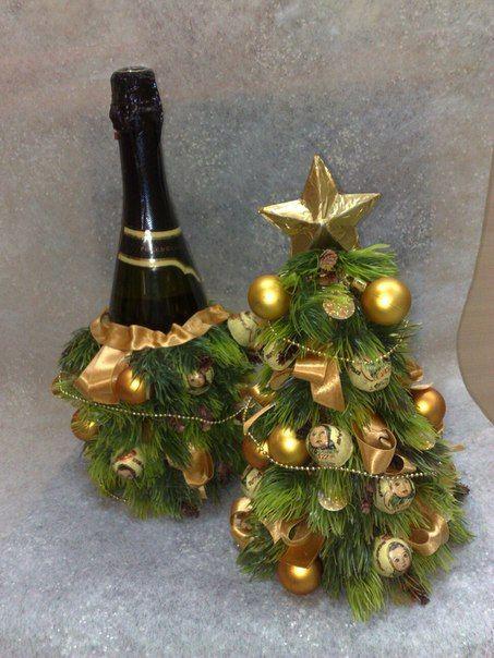 Новогодняя елка из конфет своими руками фото 207