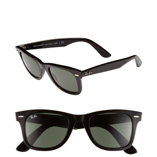 ad7905c5c934 Ray-Ban 'Classic Wayfarer' 50mm Sunglasses Matte Brown/ Brown One Size $155