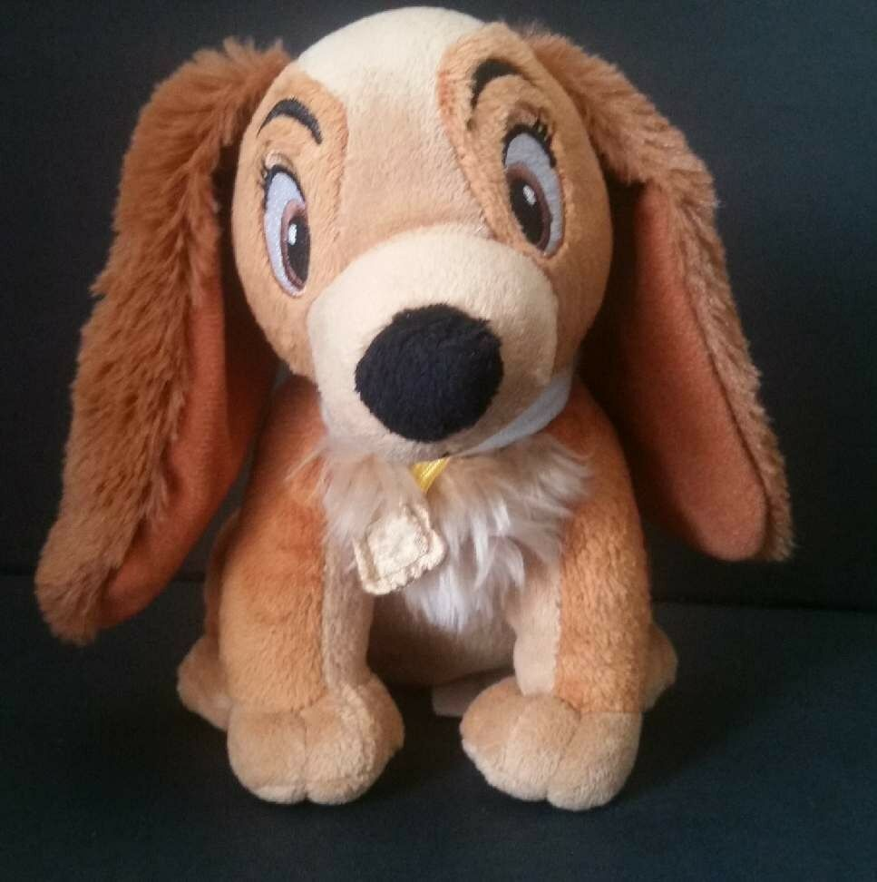 Disney Lady Plush Dog Lady And The Tramp Stuffed Puppy Toy Just