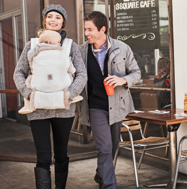 ERGObaby Baby Carrier Winter Edition.