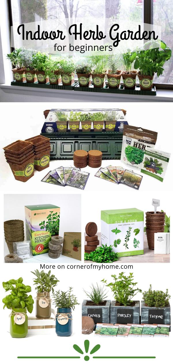 Indoor Herb Garden For Beginners Indoor Herb Garden Herbs