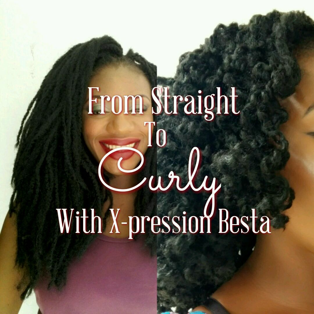Winnie's Style: How To: From Straight 'Dreads' To Curly With X-pre...