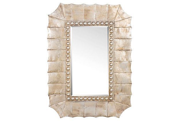 Lotus Oversized Mirror, Gold #HomeDecorators #Homes #BedroomIdeas