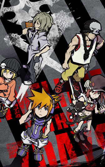 The World Ends With You Solo Remix Ilustración