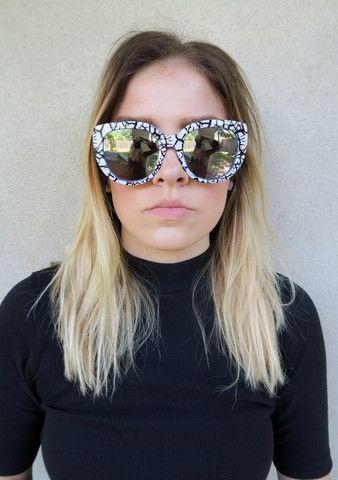 515ddfdb42 Quay St. Capri Sunglasses WHITE SILVER