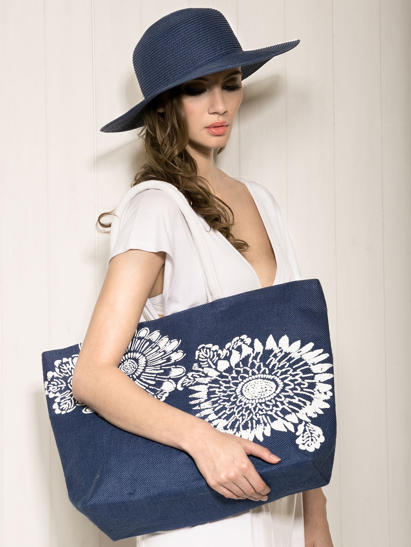 Manila Hat & Bali Bag. Available to order online for immediate delivery from our trade website www.piarossini.com #trade #wholesale #SS14 #PiaRossini #Resortwear #Resort #Beachwear #CoverUps #fashion #style #trend