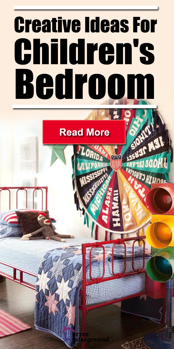 Creative Ideas For Children\'s Bedroom | Interior Design ...