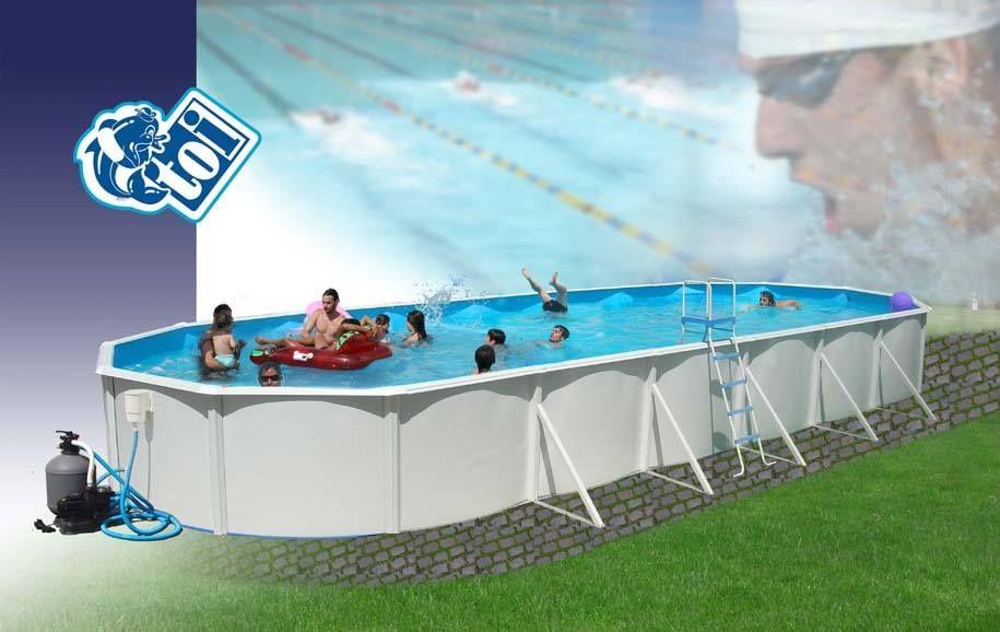 Buenos días amigos. Una curiosidad que contaros, ¿Sabéis que una piscina desmontable puede llegar a medir de largo hasta 12 metros? Y su ancho en un máximo de 1 metro y 32 centímetro. La piscinas de chapa cada día están más de moda, ya que su precio está muy por debajo y su mantenimiento mucho más económico; además podemos cambiar su ubicación cada año si queremos. Visítanos en http://www.piscinasdesmontables.com/piscinas-toi/piscina-toi-ovalada-1200x457x120-8935.html