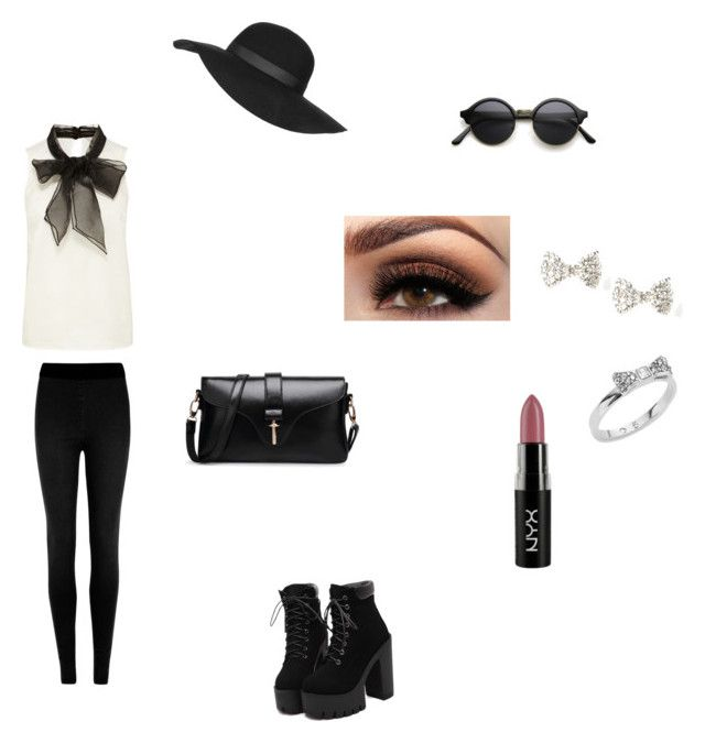 """""""Modern Outfit"""" by aliviaw ❤ liked on Polyvore featuring M&S Collection, Topshop, NYX, Kate Spade and modern"""