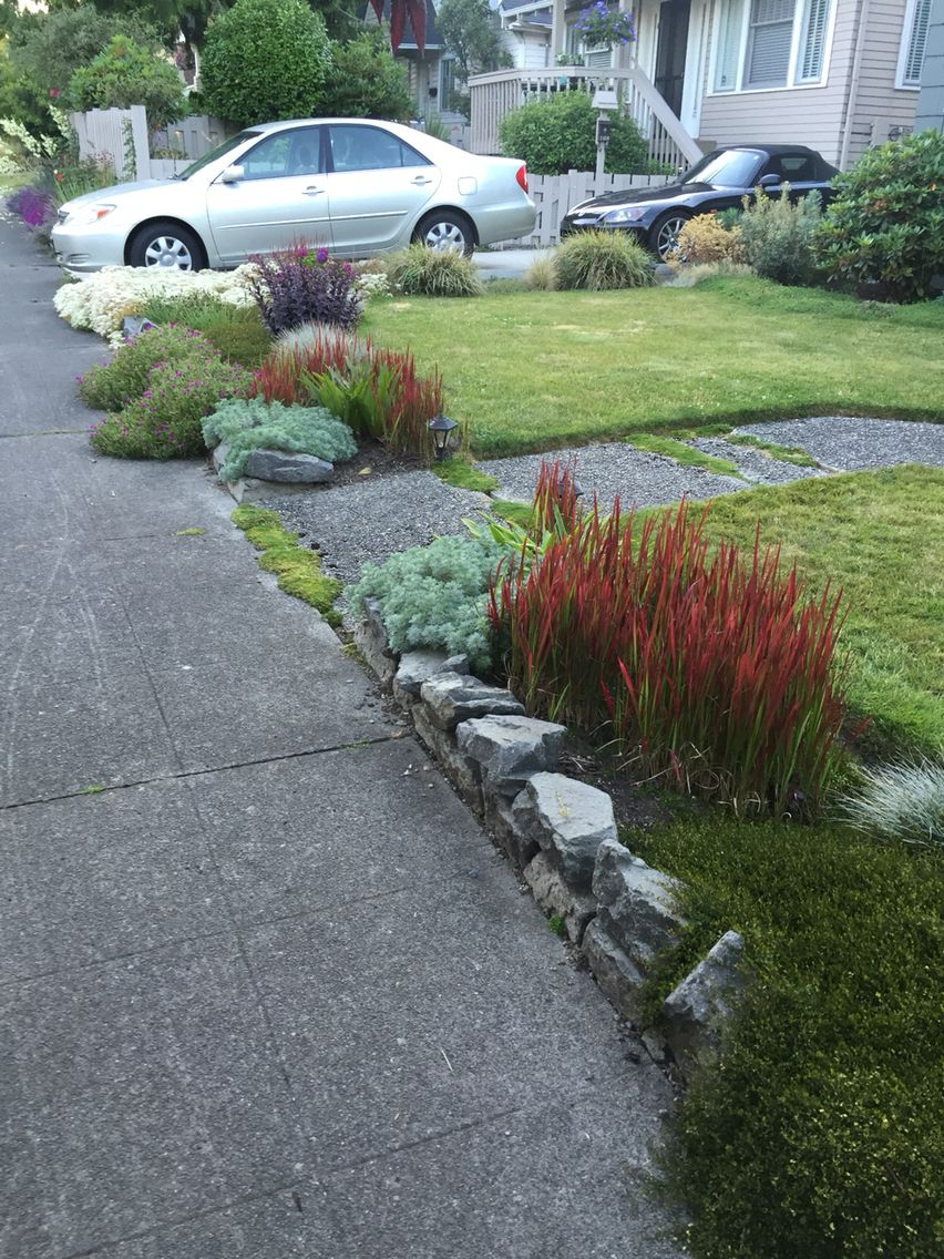Montlake Landscaping Parking Lot Backyard Landscape Design Garden Ideas