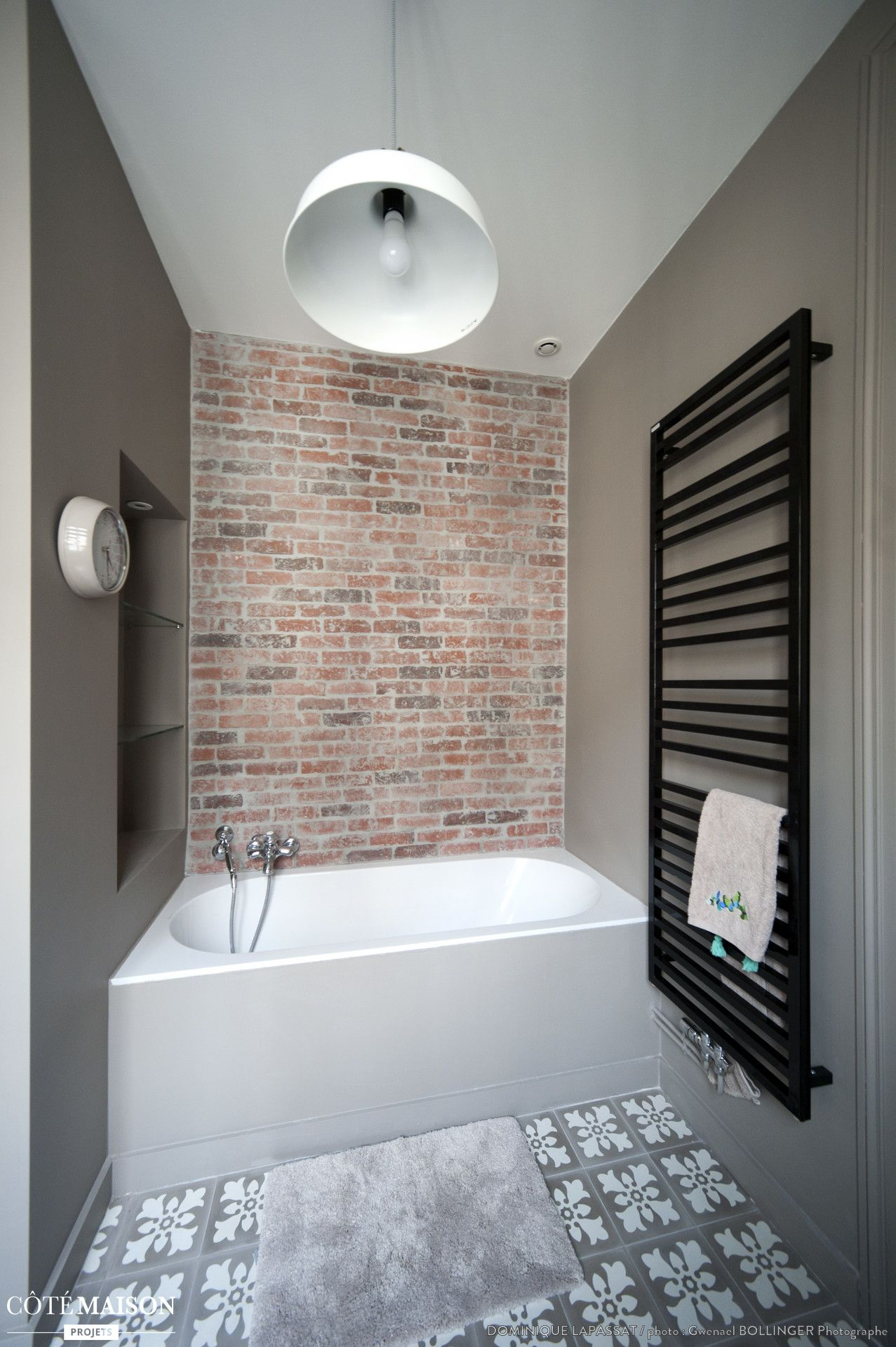 r novation d 39 un appartement haussmannien lyon dominique lapassat c t maison salle de. Black Bedroom Furniture Sets. Home Design Ideas