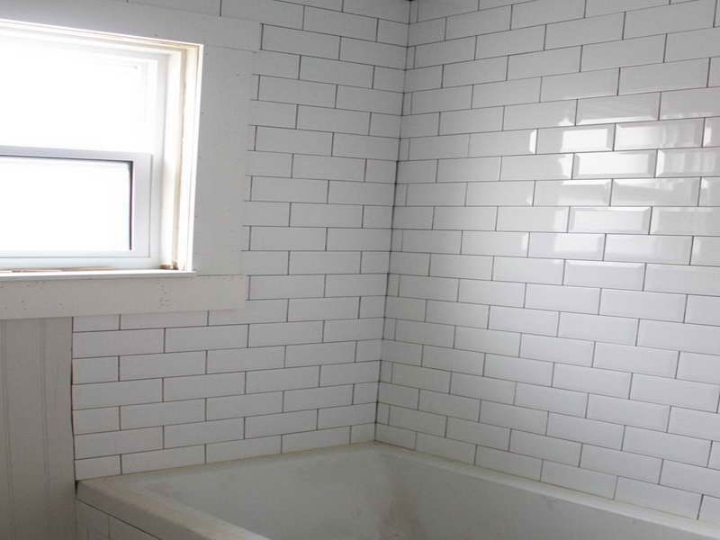 All About Beveled Subway Tile With The Bath Fortikur Beveled Subway Tile Subway Tiles Bathroom Subway Tile