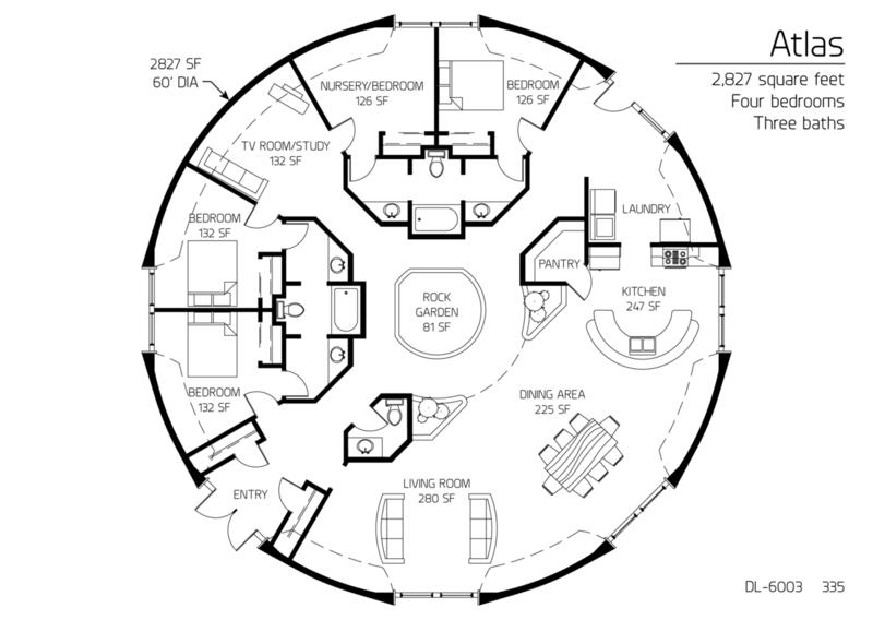 Geodesic Dome Floorplans