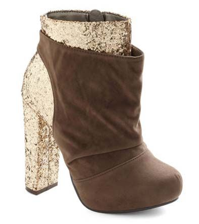 ModCloth's Gilt to Thrill Bootie