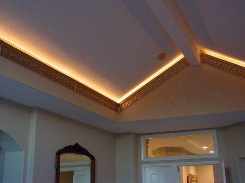 Strip Lighting Vaulted Ceiling Lighting High Ceiling Lighting Attic Lighting
