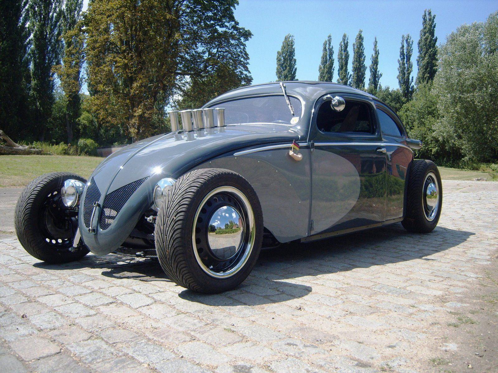 jurgens type34\'s: woaaw a\' 54 beetle hot rod V8   VW   Pinterest ...