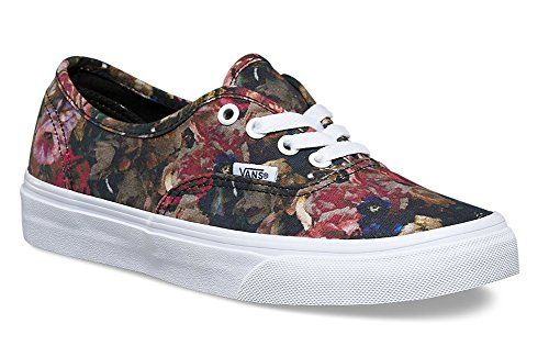 df69cdf67a VANS Unisex Moody Floral Authentic Black True White VN0004MLJOU Mens 7