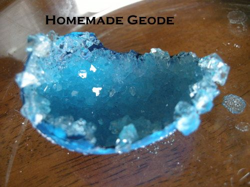 Do-It-Yourself: Homemade Geode
