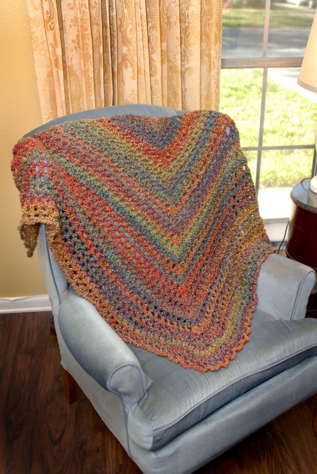 Morning Has Broken pattern | Crochet/Knit - Shawl, Shawlette & Cowls ...