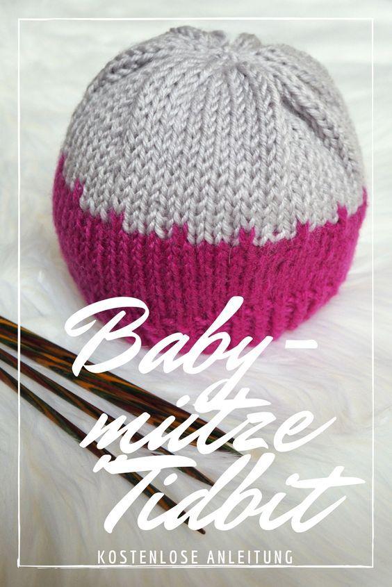 Babymütze Tidbit – Kostenlose Strickanleitung | Babymütze ...