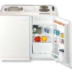 Photo of Angolo cottura – bianco – con frigorifero – rullo largo 100 cm