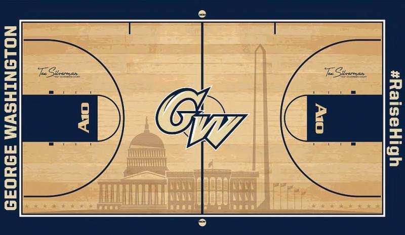 Washington University College basketball courts