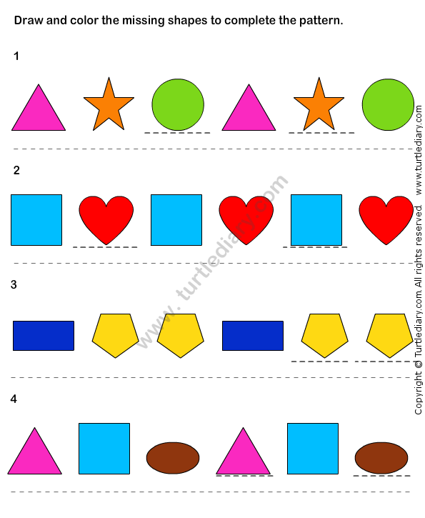 Pattern Match Worksheet28 Math Worksheets Kindergarten Worksheets Kindergarten Math Worksheets Color Worksheets Math Worksheets