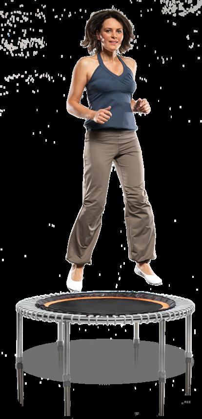 Für Ihre Fitness: das bellicon® Mini-Trampolin-Training -  Sport und Spaß in einem – probieren Sie e...