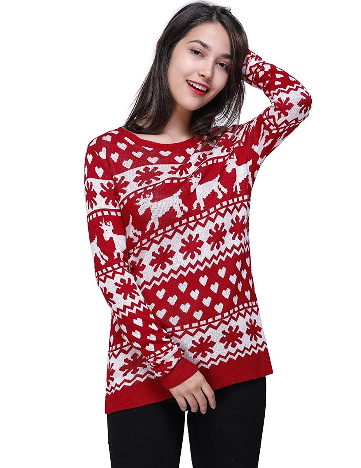 Womens Clothing Sweaters Pullovers Womens Vintage Pullover