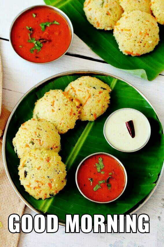 Wheat Rava Idli A Healthy Steamed Breakfast Meal Made With Broken Yoghurt Carrot And Tempering Of Indian Spices