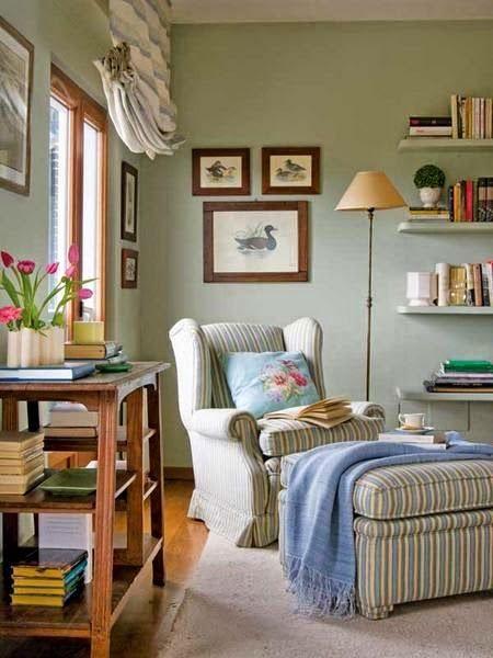 El Rincón Vintage de Karmela Hoy voy a la búsqueda del rincón ideal - rincon de lectura