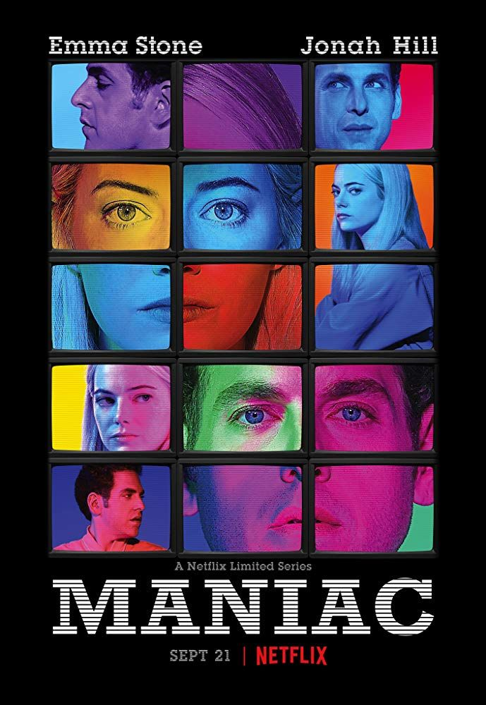TRAILER Maniac Movie Posters in 2019 Maniac netflix