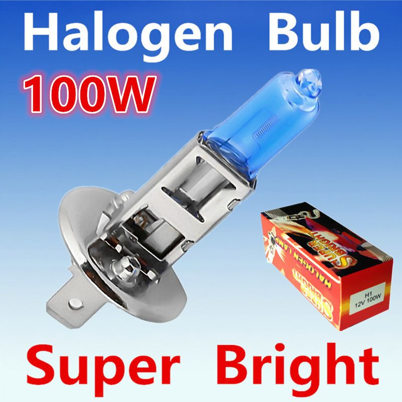 2pcs H1 100w 12v Halogen Bulb Super Xenon White Fog Lights High Power Car Headlight Lamp Car Light Source Parking 6000 With Images Car Headlights Car Lights Halogen Bulbs