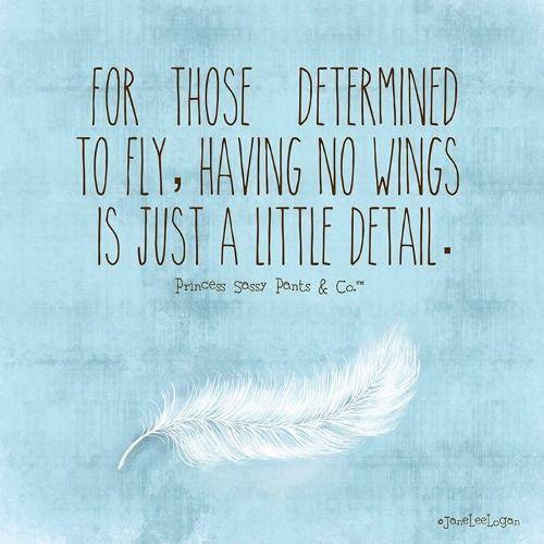 Flying Quotes: Don't Sweat The Little Details. ♫ La-la-la Bonne Vie