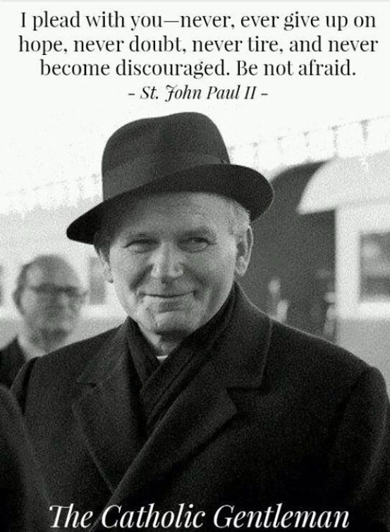 Pope John Paul Ii Quotes Stjohn Paul Ii  Great Thoughts And Quotes  Pinterest  St John .