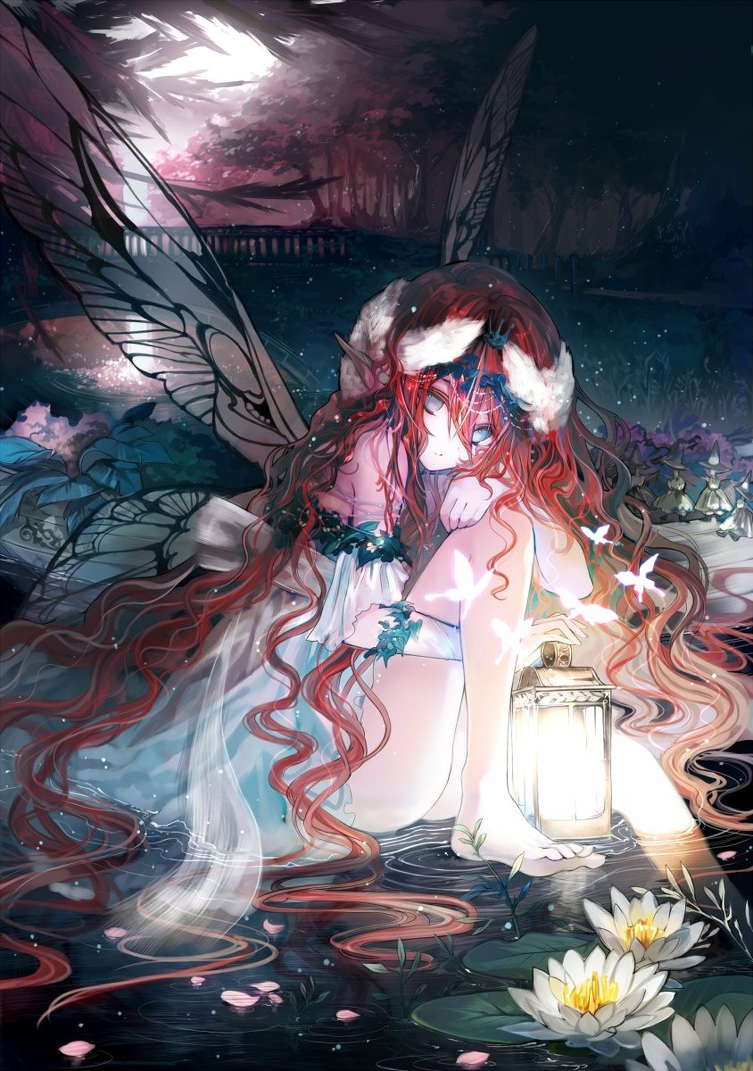 Photo of Fairy Anime Girl Illustration