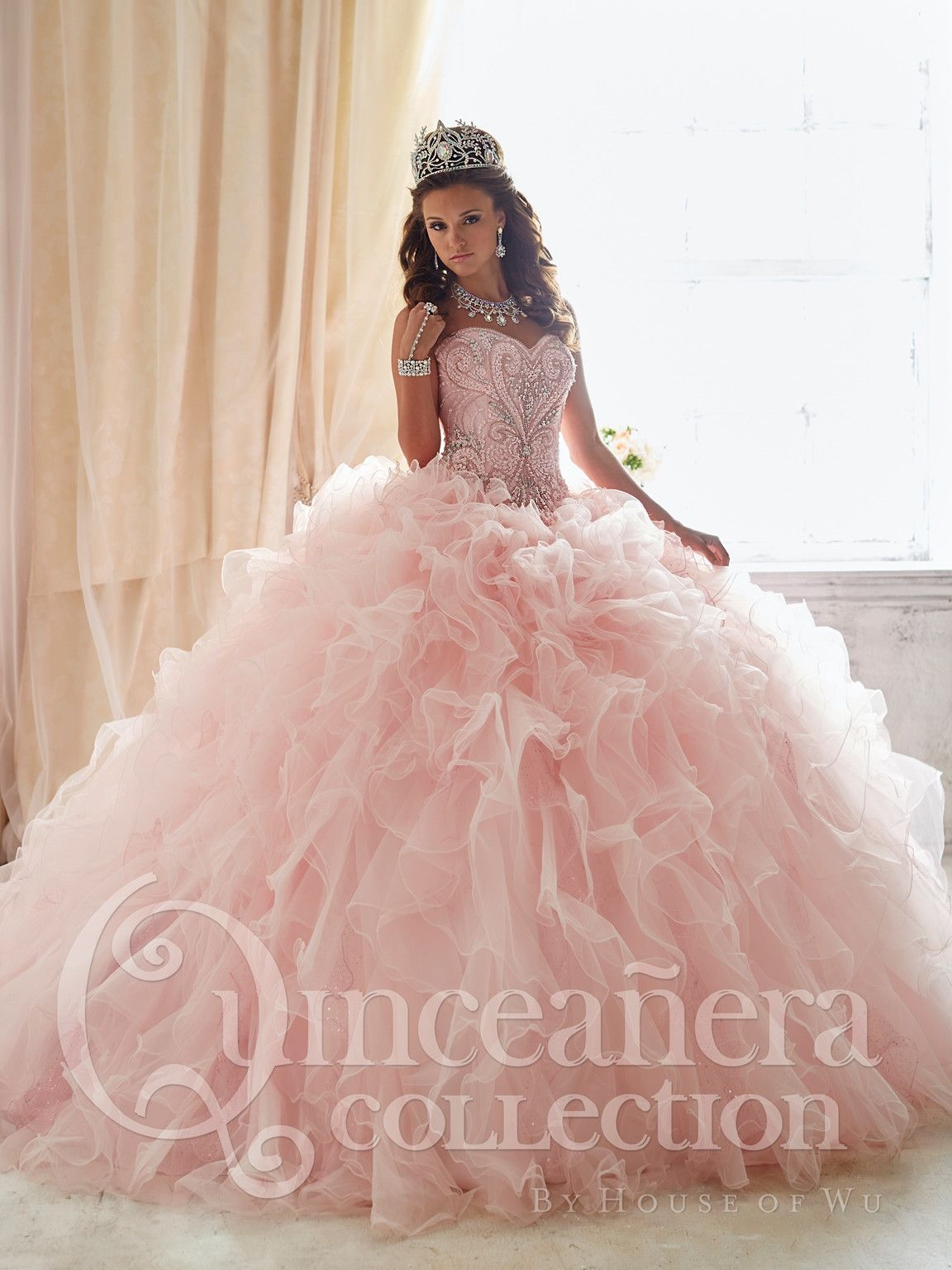 House of Wu Quinceanera Dress Style 26818 | Pinterest | Sweet 15 ...