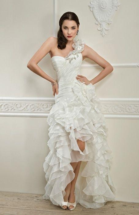 54cd8d94a13 robe de mariee courte devant
