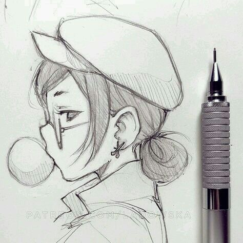Dibujo A Lapiz Cizim Fikirleri Eskiz Cizimler