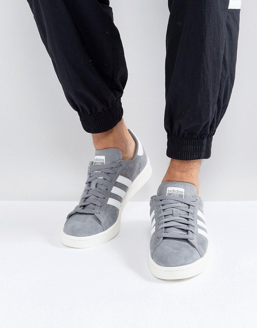 quality design a4ad5 5c0e2 ADIDAS ORIGINALS CAMPUS SNEAKERS IN GRAY BZ0085 - GRAY.  adidasoriginals   shoes