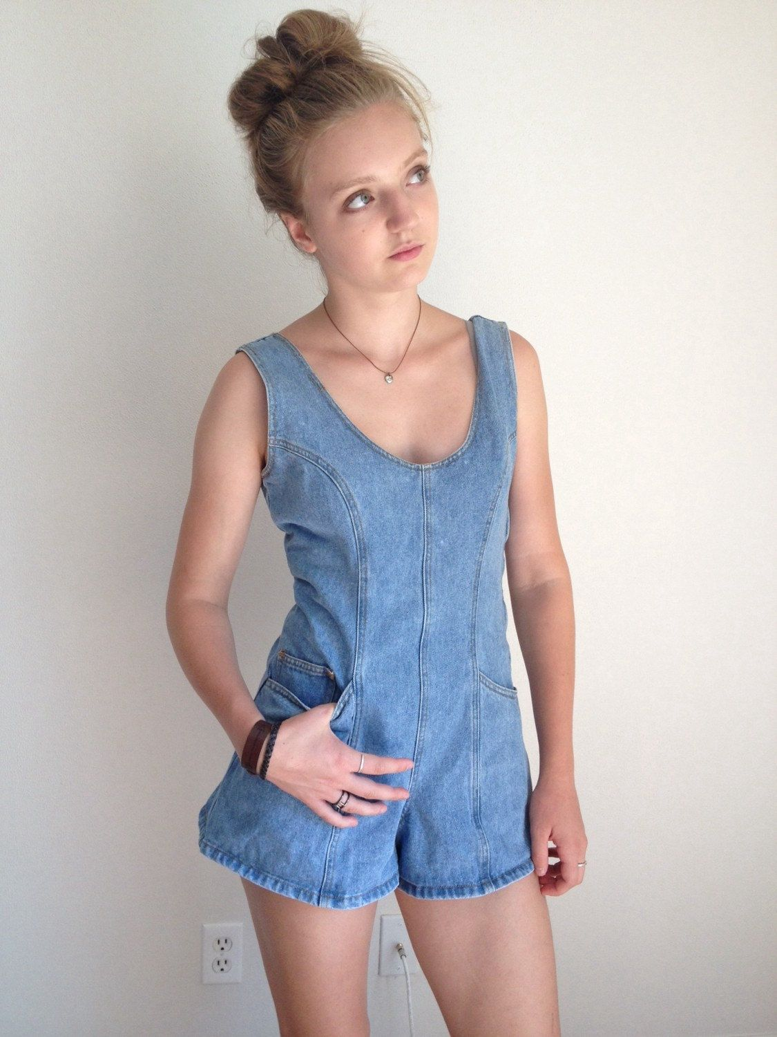 6171337ce0 90s Shorts Overalls