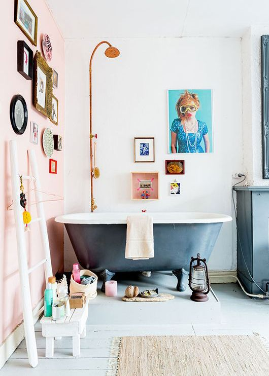 roze, trendkleur, voor de badkamer