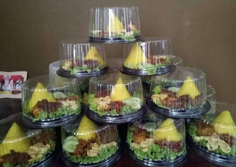 Resep Tumpeng Mini Oleh Iis Najwa Resep Masakan Indonesia Ide Makanan Fotografi Makanan
