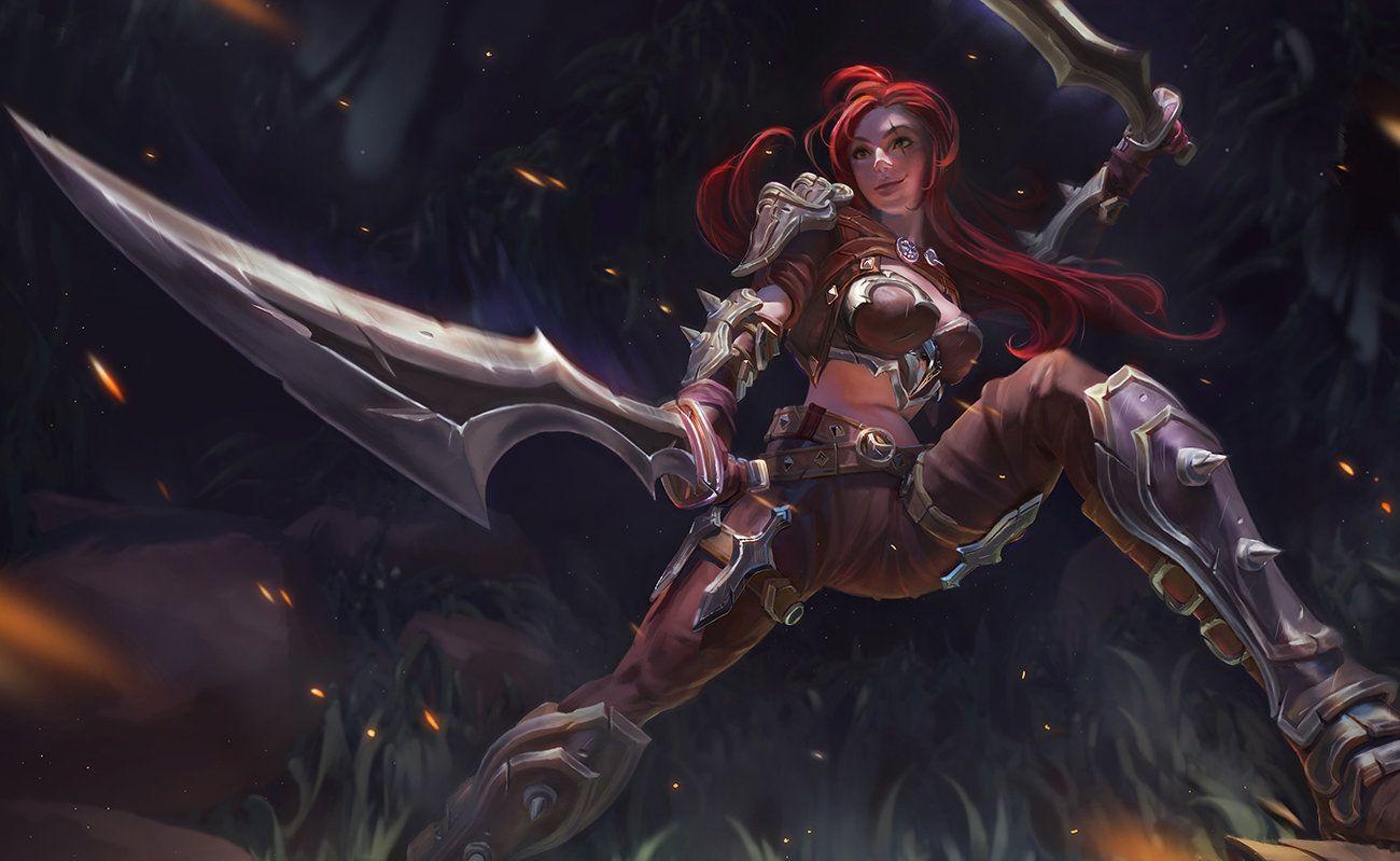 Katarina by Bill Yi | League of Legend | Pinterest | Fan ...